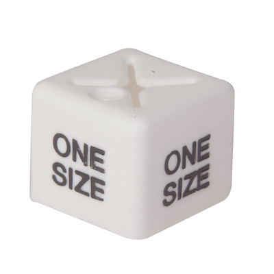 SHOPWORX CUBEX 'One Size' Size cubes - White (Pack 50)