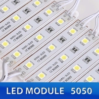MD-520 | LED MODULE 5050 PURE WHITE 3 LEDS IP65 60-70LM PACK OF 200PCS
