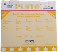 Sanger Pluto Sterile Surgical Gloves, Powder Free