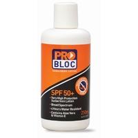 Problock Sunscreen SPF 50+Flip Top 250ml