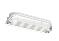 SWIFT 3 WATT LED MAINTAINED EMERGENCY BULKHEAD COMES WITH LEGEND IP65 3 YEAR WARRANTY
