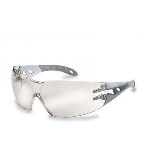 Uvex Pheos Safety Spectacles, Silver Mirror Indoor/Outdoor Lens
