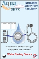 Easi Plumb Aqua Save 8L / Min. Flow Regulator for Shower Head