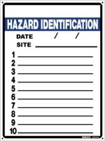Hazard Identification Site Safety Board