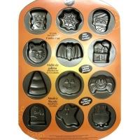 2105-8131 12 CAVITY PAN HALLOWEEN COOKIE