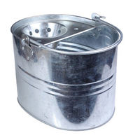 Leecroft Heavy Duty Galvanised Mop Bucket (WT901)