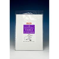 Caroline 2 Square Paper T/Cloth 35'' white