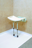 Drop Down Wall Mounted Shower Seat
