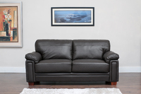 MEMPHIS - BONDED LEATHER - BLACK