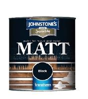 JOHNSTONES MATT BLACK 250 ML