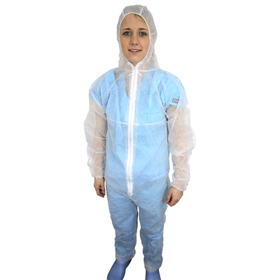 Overall with Hood non woven material