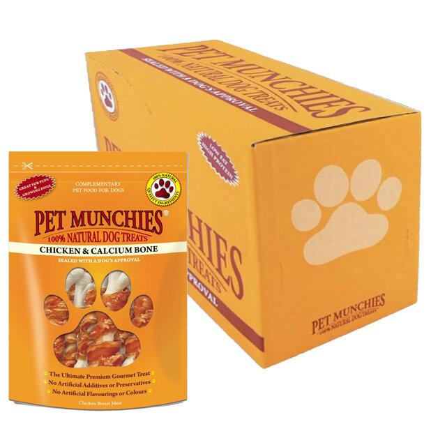 Pet Munchies Chicken & Calcium 8 x 100g