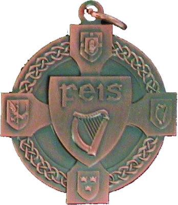 40mm Feis Medal (Bronze)
