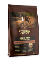 Gelert Country Choice Complete Grain-Free Turkey & Veg 12kg