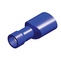 Blue Term Female Insulated Spade | 6.3mm