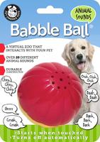 Pet Qwerks Animal Sounds Babble Ball Large x 1