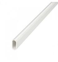 Conduit - 22mm Oval PVC Tubing 3Mtr Length