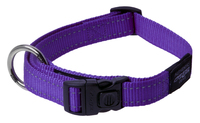 "Rogz Utility Purple Large (Fanbelt) Side Release Adjustable Collar 13"" - 22"" x 1"