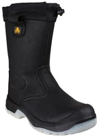 AMBLERS TIE TOP SAFETY RIGGER BOOT S3 SRC