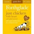 Forthglade Adult Dog Tray Just Chicken with Heart 395g x 18