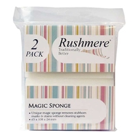 Rushmere Magic Sponge 2 Pack