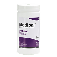 Medipal Patient Cleansing Wipes, 200/Tub