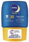 Nivea Sun Adult Pocket Lotion Spf30 50ml