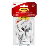 17067-MP Command Small Wire Hooks Mega Pack 28pk