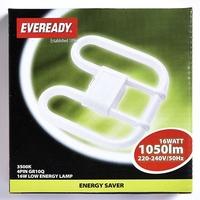 EVEREADY WHITE (COL3500K) 2D 16W 4 PIN