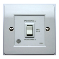 QED In-Wall Two Way Speaker Switch-Parallel