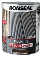 Ronseal Decking Rescue Paint 5lt - English Oak