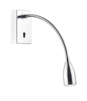 Tadley Wall Bracket Gooseneck LED Polished Chrome | LV1802.0009