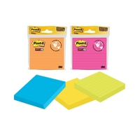 Post-It Super Sticky Lined Pad (90 Sheets)
