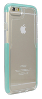 HD02041 iPhone 6/7 Clear Case Turquoise Sides