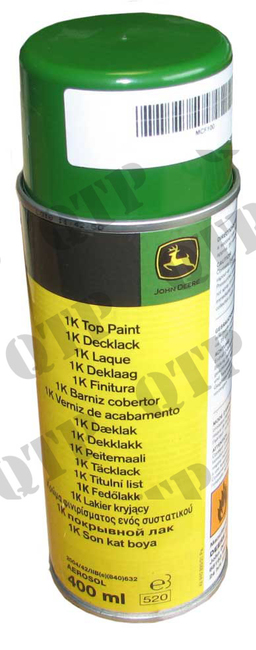 Spray Can Aerosol John Deere Green 400ml Quality Tractor