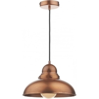 Dynamo 1 Light Pendant, Antique Copper | LV1802.0058