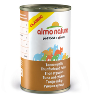 Almo Nature Classic Cat Can - Tuna & Chicken 140g x 24