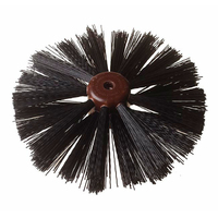 9'' 3 Row Drain Brush Plastic Stock Universal (A833)