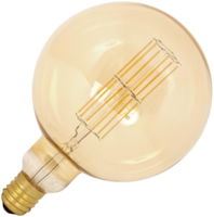 CALEX GIANT LED FILAMENT  DIMMABLE  MEGAGLOBE  G200 11 WATT LAMP 240 VOLT E40 2100K GOLD FINISH 1100 LUMEN