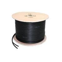 Labgear 100m Black RG59 + 2 Core Power Cable
