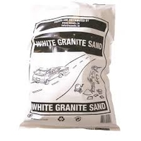 SAND WHITE GRANITE BAG - 40KG