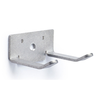 Stainless Steel Hook - Double