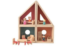 Stackable Doll's House Set