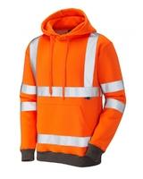 Leo Goodleigh Hooded Sweatshirt Orange