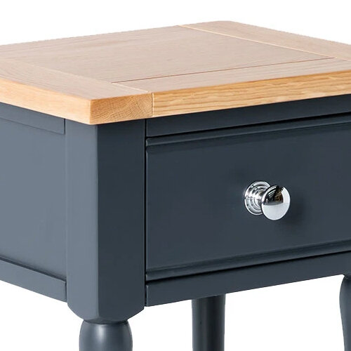 Sussex Navy Lamp Table 3