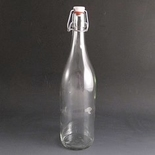 Clip Top Bottle 1 Litre. (Pack of 20)