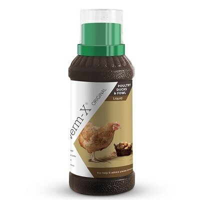Verm X Liquid For Poultry 500ml