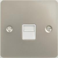 Flat Plate PN 1G MASTER Socket WHITE LV0701.0585