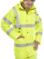 Jubilee Breathable Hi Visibility Jacket EN471 Yellow