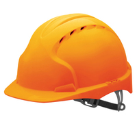 EVO2 Helmet Slip Ratchet - Orange - Vented